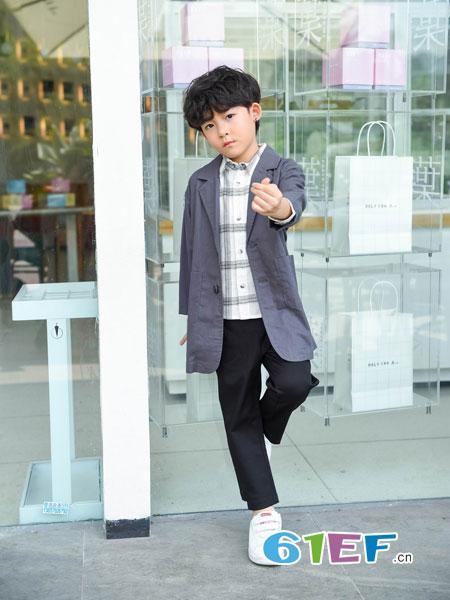 BennyJenny童装品牌2019春夏时尚潮童长袖休闲外套