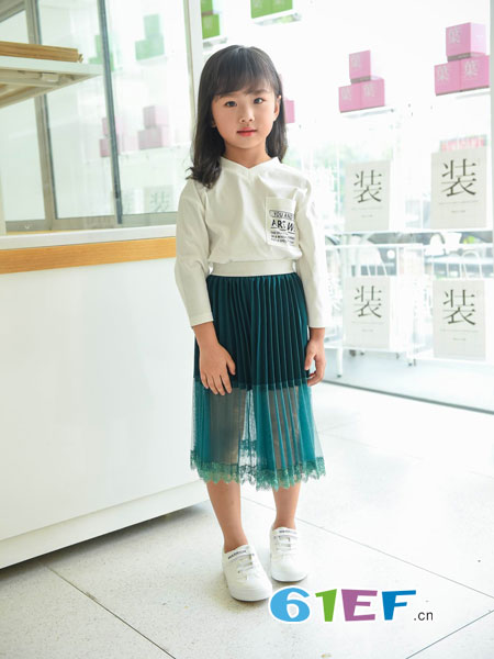 BennyJenny童装品牌2019春夏假两件套半身裙