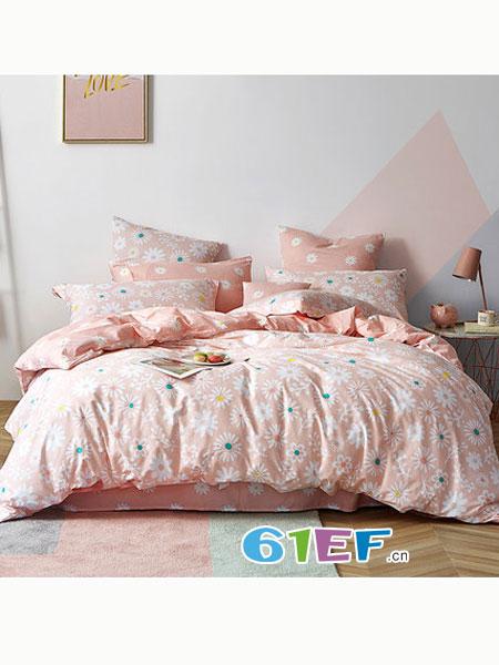 多喜爱用品全棉ins风床上用品1.5m1.8m纯棉套件许愿精灵