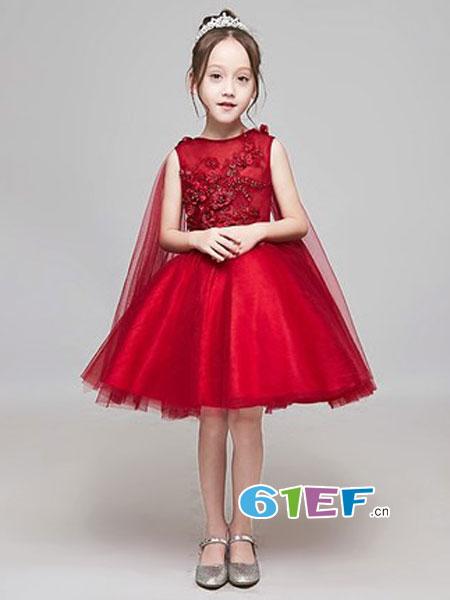 梦幻仙女裙 让宝贝做个优雅甜美的小公主