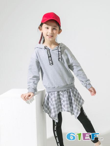 兔子杰罗童装品牌2019春季纯棉韩版卫衣