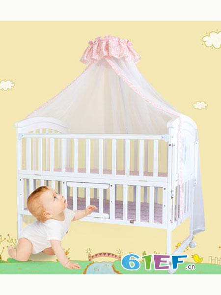 阿心乐婴童用品床多功能环保新生儿bb摇篮床推床拼接大床