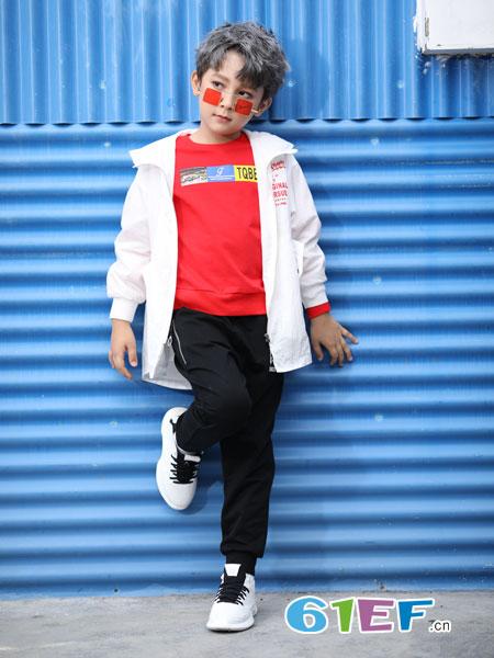 淘气贝贝童装精致的工艺制作,安全、舒适的版型设计