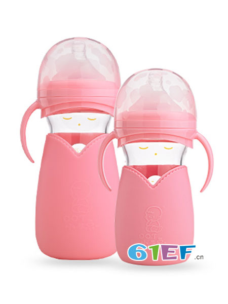 小不点婴童用品萌娃—感温轻松吸奶瓶