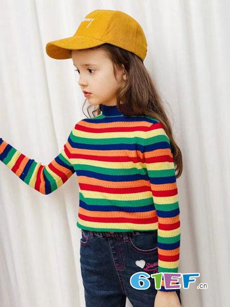 一件萌趣毛衣 让宝贝童年变得fashion
