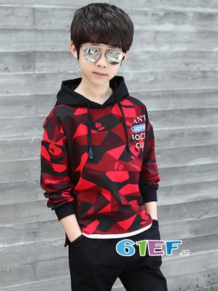 男童时尚卫衣 炫出酷炫有范的自己!