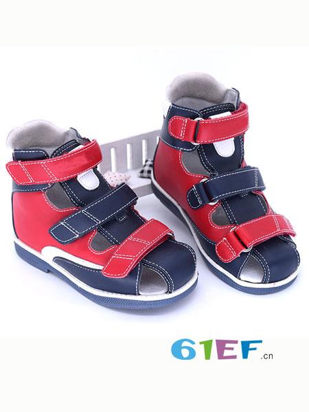 WUMZZ童装品牌夏季包头凉鞋_儿童宝宝矫
