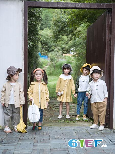 安米莉AMILRIS童装品牌2019春季儿童洋气公主裙