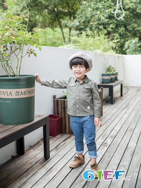 安米莉AMILRIS童装品牌2019春季新款韩版宽松上衣潮
