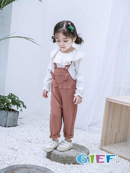 安米莉AMILRIS童装品牌2019春季背带裤韩版潮