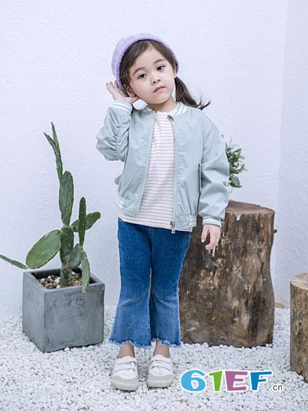安米莉AMILRIS童装品牌2019春季新款儿童长袖开衫
