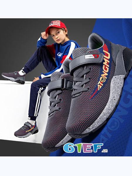 菲克童鞋品牌2018秋冬网面小熊鞋鞋子男潮酷酷的