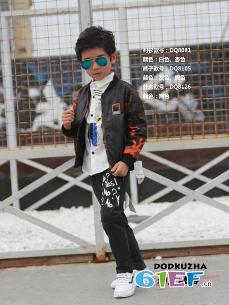 动点酷站童装品牌2018秋冬夹克外套休闲时尚帅气儿童新款棒球服潮