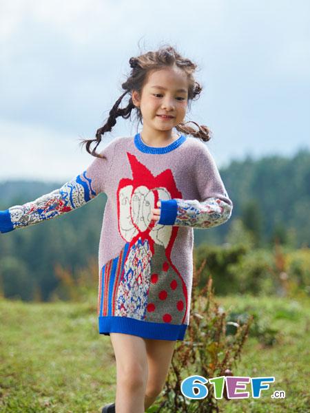 春季这么穿针织衫 宝贝随意搭配就是美