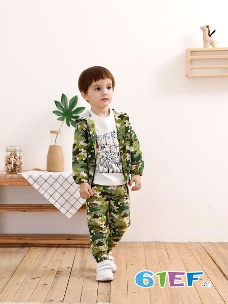 棉果果童装品牌2019春季新款外套上衣潮