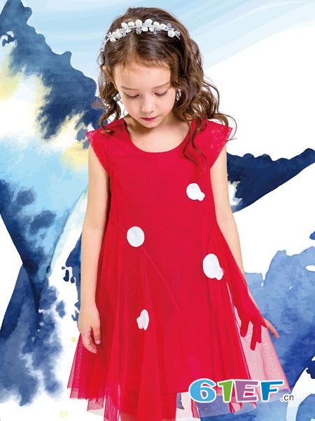水孩儿souhait童装品牌2019春夏新款韩版网纱裙子中大儿童洋气公主裙