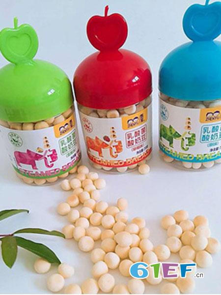 甄育婴儿食品2018春夏乳酸菌酸奶豆