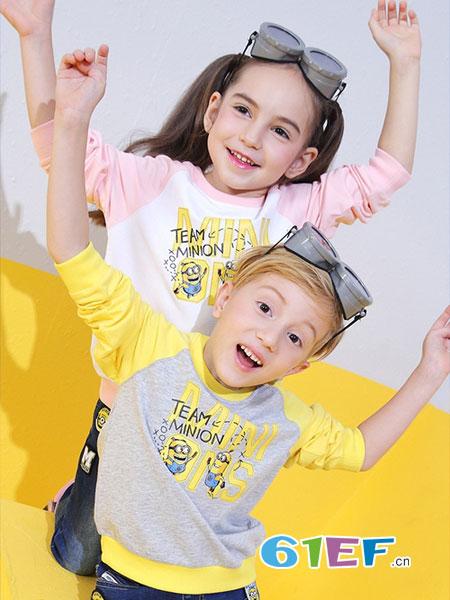 淘淘博士童装品牌2018秋冬童装儿童卫衣中大童男童套头衫