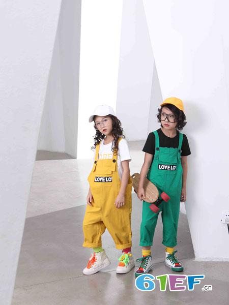 下一个奇迹童装品牌2019春夏新款儿童套装男女童长袖长裤套装