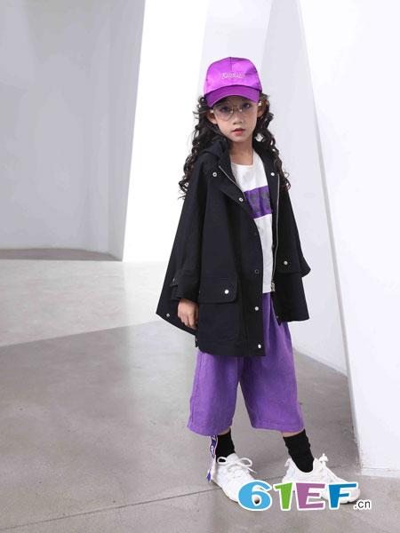 下一个奇迹童装品牌2019春夏新款韩版潮衣儿童中长款洋气中大童