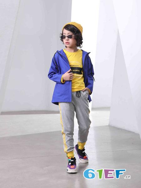 下一个奇迹童装品牌2019春夏新款棒球服夹克中大儿童韩版潮衣