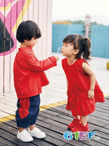 小资范童装品牌2019春季娃娃衫韩版宽松上衣