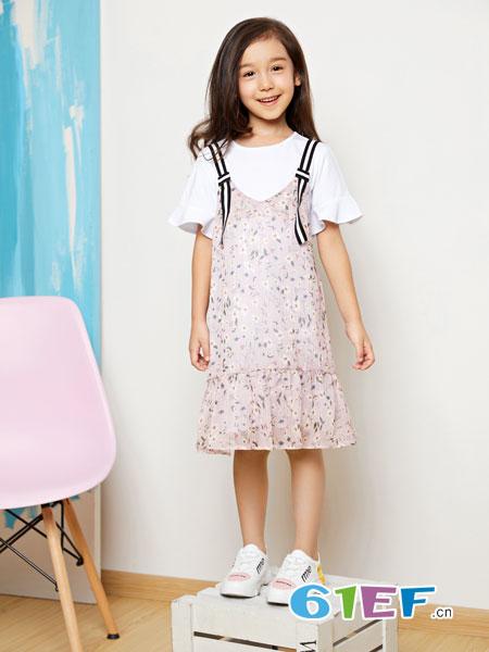 poipoilu(泡泡�#┩��b品牌2019春季新款短袖t恤修身雪�蕾�z吊��杉�套