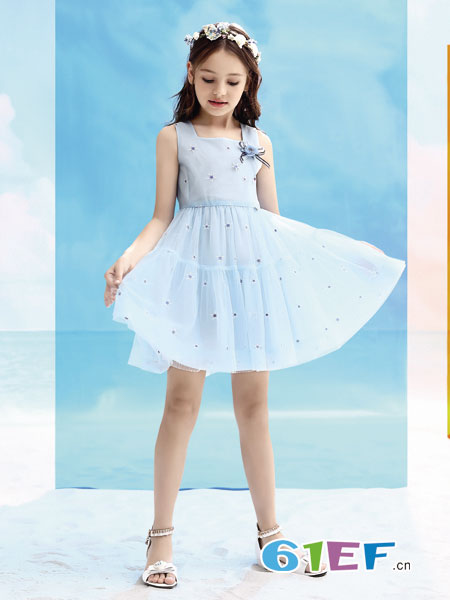 气质公主裙穿搭 彰显孩子唯美可爱感