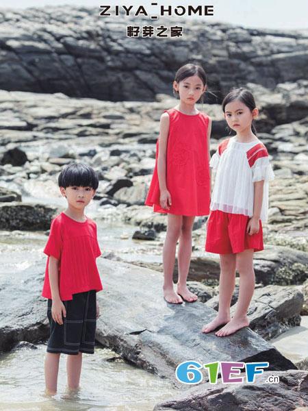 籽芽之家童装品牌2019春季儿童纯棉背心裙休闲连衣裙