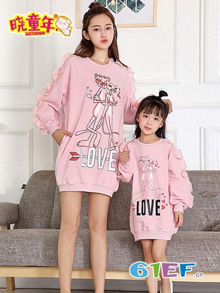 晓童年童装品牌2019春季新款韩版中长款女童宽松潮