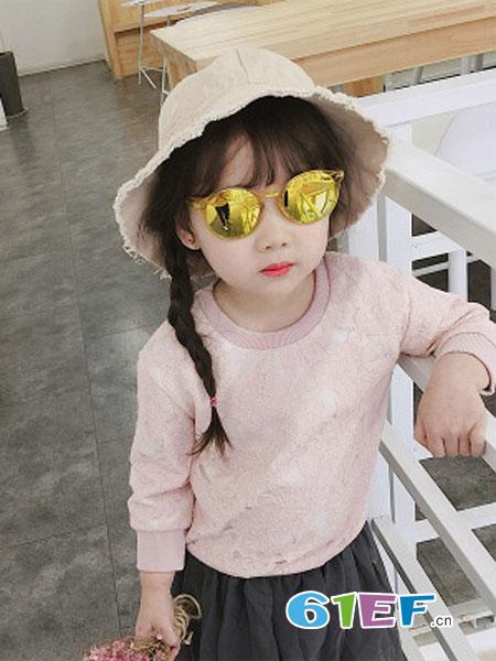 海潮儿童装品牌2019春季韩版潮全棉套头