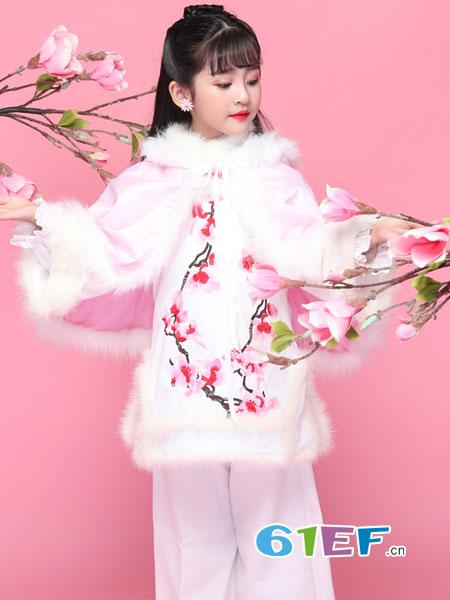 旗旗衣语童装品牌2019春季主题服饰 大童走秀礼服新款套装