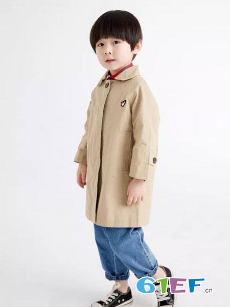 菲丁波特童装品牌2019春季新款潮韩版休闲中长款中大童洋气外套