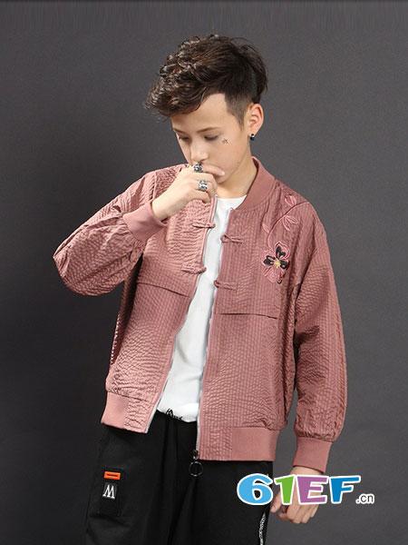 羊羊熊童装品牌2019春夏中国风夹克衫时尚男孩