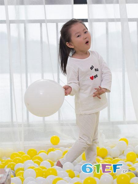 管妈妈童装品牌2019春夏纯棉睡衣宝宝空调服