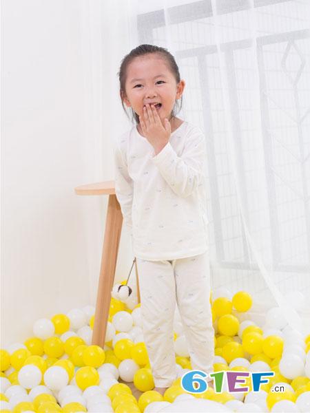 管妈妈童装品牌春夏纯棉长袖宝宝睡衣套装