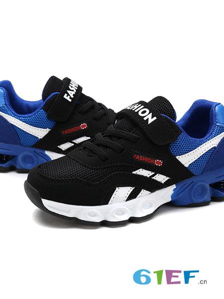 怕怕龙童装品牌2019春季休闲跑步鞋小孩白色男童网鞋