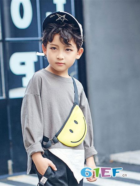 宠来宠趣童装品牌2019春夏新款潮韩版休闲上衣