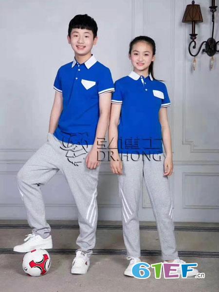 弘博士童装品牌2019春夏户外运动工作服活动衫公司团体制服工作服