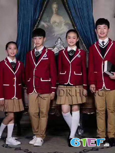 弘博士童装品牌2019春夏校服定做服装定做团体服装