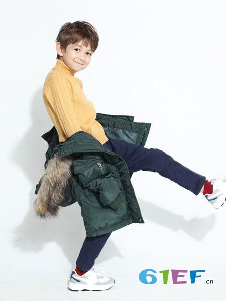 小树日记童装品牌2019春夏新款韩版修身羽绒服外套