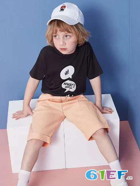 8eM童装童装品牌2019春夏休闲裤宝宝洋气裤子韩版宽松时尚