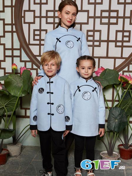 爱兔童装品牌2019春季校服演出服幼儿园毕业服装男女童