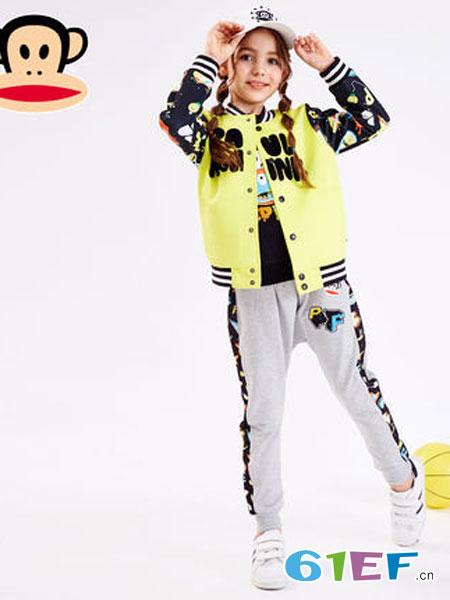 大嘴猴童装品牌2019春季全棉印花外套儿童潮流棒球服上衣