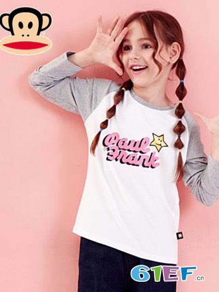 大嘴猴童装品牌2019春季长袖休闲时尚上衣