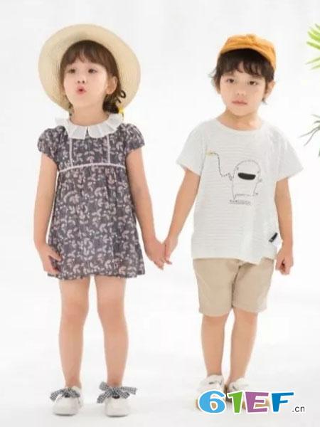 兔子杰罗童装品牌2019春夏韩版潮流男孩个性夏装时尚上衣