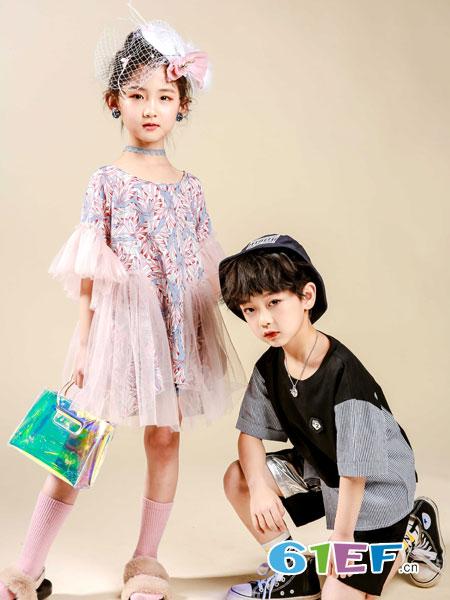玖喆潮童童装品牌2019?#21512;?#29983;日晚礼服婚纱花童蓬蓬纱裙