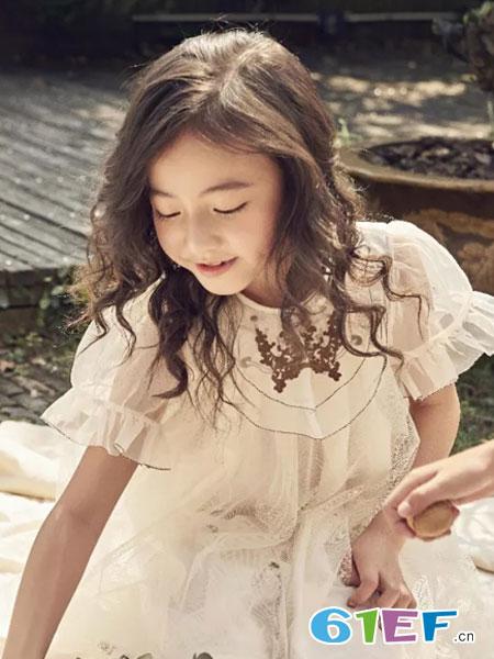 SENYU森屿童装品牌2019春夏女孩洋气裙子中大童儿童装公主裙
