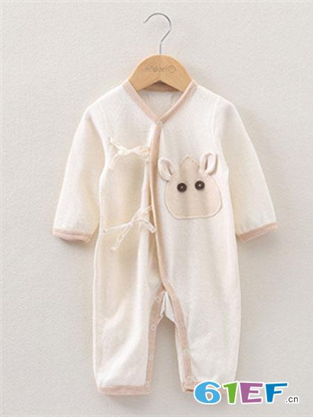 Midori Organic Cotton童装品牌2019春夏哈衣宝宝连体衣睡衣纯棉包屁衣