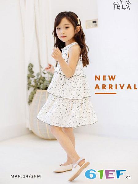 爱比丽屋童装品牌2019春夏韩版洋气中大童网纱短裙公主裙